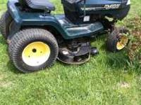 hello i have a murray gt riding mower this mower runs