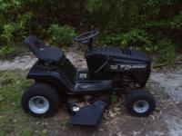 I have a Black Murray Riding Lawn Mower in Good