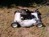 I HAVE A 22 INCH MURRAY LAWNMOWER FOR SALE, IT HAS A