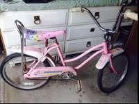 For sale Murray moonbeam girls banana seat bike in