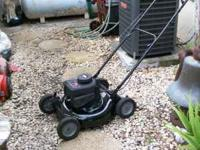 "Murray lawn mower - push - 3.75 h.p. engine - 21"" cut -"
