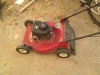 Very Good Running,Cutting Mower 3.5 HP Briggs & Straton