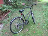 MURRAY RETRO Comforte 5 Speed Black Bike With just a