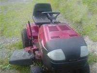 Real nice looking Murray automatic mower, 16 HP Briggs