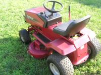 Listed is a Murray Riding Mower in very good used