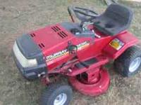 Murray riding mower. Bought new in 1995. 12.5 hp motor