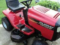 Murray Wide Body Mower. 17.5 HP I&C B&S engine. 46""