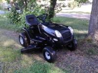 Looking to sell our lawn tractor. Its a Murray Select