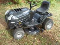 2008 murray select riding mower, needs battery but can