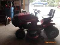 Murray riding lawn mower 18 HP, 46 inch cut. Please
