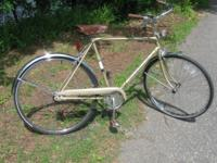 The bike is 28 years old and is in great shape. It has