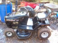 FORSALE, MURRY RIDING MOWER, HAS A 12.5 HP BRIGGS, 40""