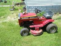 i have a murry riding mower runs and mows good , needs