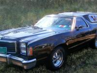 Muscle 1977 Ford Ranchero gt. (please repy to my ad