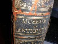 Museum of Antiquity 1882 the book is in fair condition
