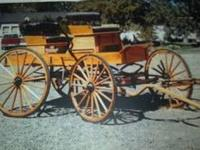 Early 1800s Mountain wagon. So called because it was
