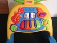 Fisher Price Music Activity Walker, in EXCELLENT