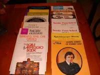 16 total music books.Around 10 are for beginners