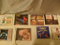 HERE IS A LITTLE BIT OF THE CD'S THAT I HAVE FOR SALE.