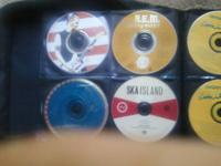 3 case fulls of CDs in good condition ..listened to by
