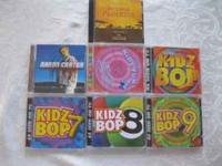 7 CDs total Aaron Carter Return to Pride Rock Kids Fun