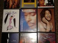 MUSIC DVD`S FOR SALE  (9)   IN LIKE NEW CONDITION (1)