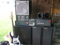 "SWR Workingman 2004 Bass Head and 15"" Fender Cabinet"