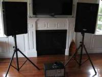 Musicians PA system- Phonic 2 speakers, 2 speaker