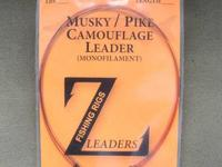 MUSKY FISHING LEADERS - FLUOROCARBON / WIRE / JERKBAIT