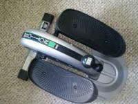 * Compact, lightweight elliptical trainer: 24 x 20 x 12