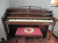 I have a George Steck spinnet piano available for