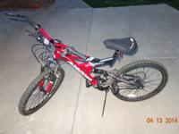 "Offering an Excitor 24"", 21 speed mountain bike in"