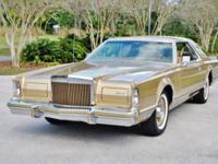 1978 Lincoln Mark V Diamond Jubilee Rare Lincoln,