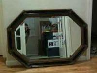 Wall hanging Mirror $30 queen size futon brand new