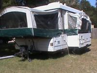 Item: Pop Up Camper. Rate: $4,900 (Just Reduced). Year: