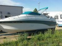 28 foot cabin cruiser with trailer new  454 engine Must