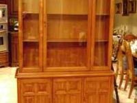 Must sell beautiful China Cabinet. please call us at