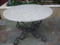 "PRICE REDUCED AGAIN! Beautiful granite top, 50"" in"
