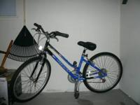 "I am selling my wife's Giant Sedona ST 14"" Blue/Black."