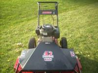 "MUST SELL NOW : swisher 42"" finishing touch mower, self"