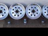 Draglite Cragar Wheels Removed from a Mustang GT Good