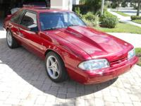 1993 FORD MUSTANG 3door 200 mph street car!! Under car,