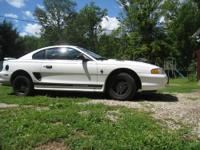 1998 Mustang Coupe, 144,000 miles, custom rally