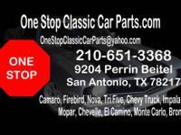 ONESTOP CLASSIC CAR PARTS 9204 PERRIN BEITEL SAN