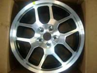 Here is a set of REAL FORD gt500 black wheels.These are