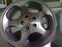 i am selling a stock set of 1997 mustang cobra wheels.
