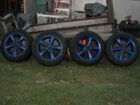"I have a set of 18"" 2008 mustang gt wheels 4sale.They"