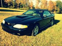 I'm selling my 1996 black Mustang GT. Run great,