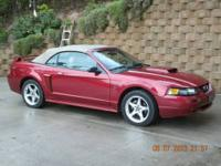MUSTANG GT CONVERTIBLE 2003 (One owner me ) MILEAGE-