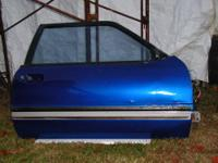 Right side (passenger) door for a Fox body Mustang with